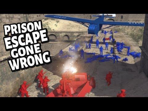 Prisoners OF War REVOLT ! Prison Escape & RIOT Gone Wrong - Army Men Of War
