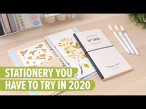 Stationery You Have To Try In 2020