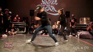 Battle of the Year 2016 Pacific Qualifier - Bgirl 2vs2 Finals - Flix & Tinylocks VS 89 Lives