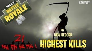 21 KILL WIN!!!!   -  Fortnite (Gameplay)