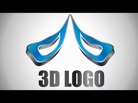 3D logo design tutorial in adobe illustrator cs6 thumbnail