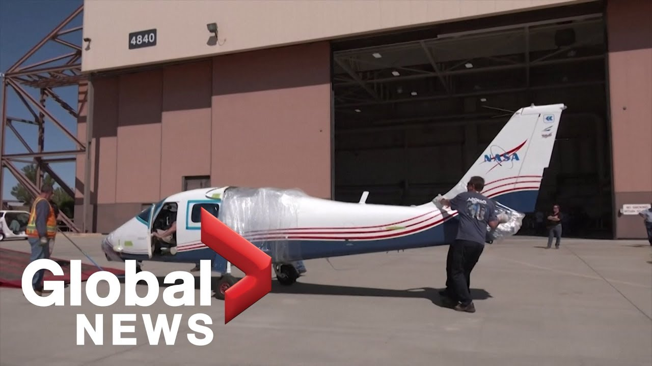 NASA unveils its first all-electric airplane, the 'Maxwell'
