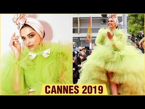 Cannes 2019  Deepika Padukone Final Appearance In Lime Green Gown Says GOODBYE