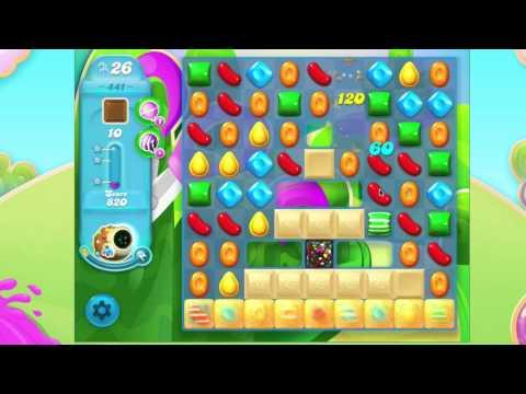 Candy Crush Soda Saga Level 441  No Booster