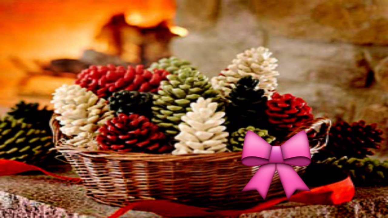 Pine cones for crafts - 20 Diy Christmas Pine Cone Crafts For A Festive Decoration