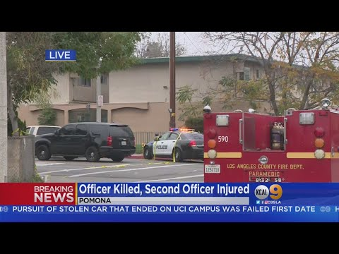 One Pomona Officer Killed, 1 Wounded After Suspect Opens Fire; SWAT Standoff Continues