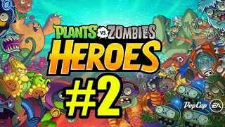 Смотреть растения против зомби герои Прохождение #2