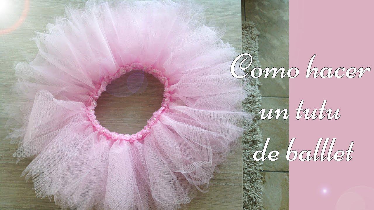 34e28206a Como hacer un tutu de ballet sin maquina de coser!