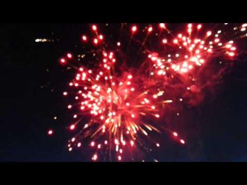 Ferndale, WA Fireworks May 2014