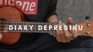 DIARY DEPRESIKU - Last Child (lirik & chord) | Cover Ukulele by Alvin Sanjaya