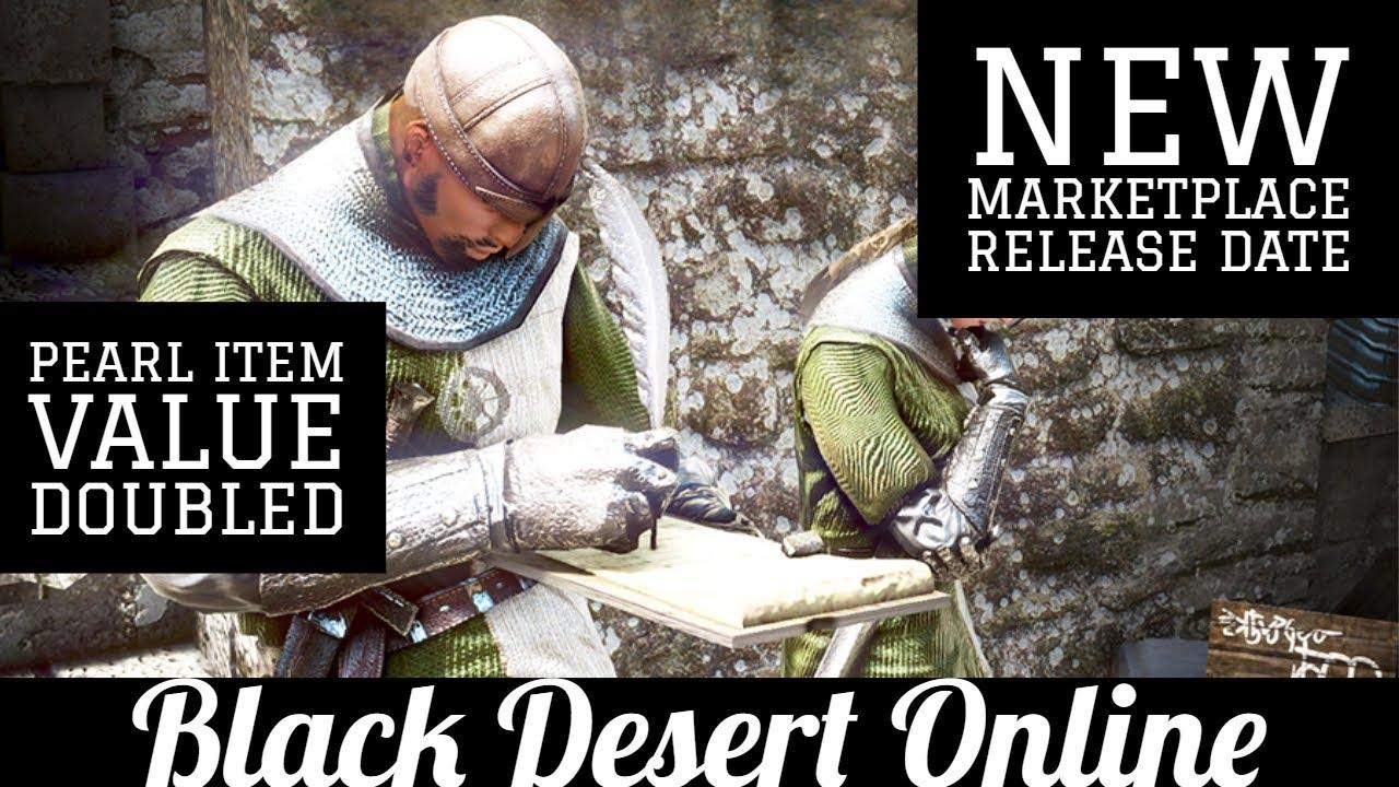 Black Desert Online [BDO] New Marketplace Release NA/EU Confirmed