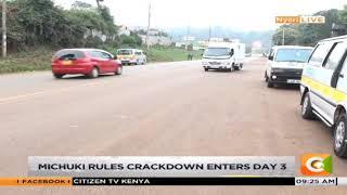 Situation on the Nyeri Nairobi highway