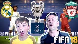 REAL MADRID VS LIVERPOOL: FINAL CHAMPIONS LEAGUE EPICA!