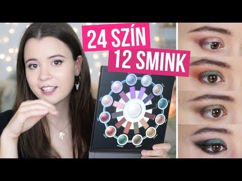 24 SZÍN a szememen! ~ Zodiákus paletta ~ BH Cosmetics ⭐️ Luca thumbnail