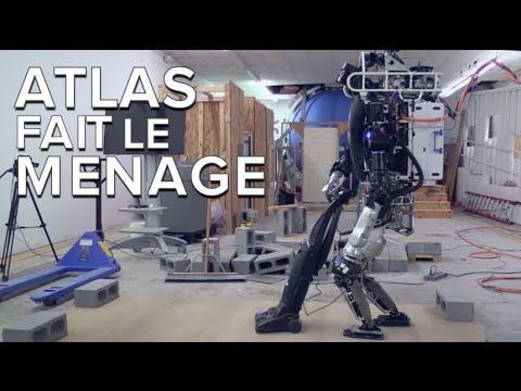 atlas le robot qui range la maison et fait le m nage youtube. Black Bedroom Furniture Sets. Home Design Ideas
