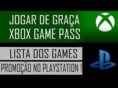 Jogar de graça no Xbox Game Pass e PROMOÇÃO no PlayStation 4 e Xbox ONE