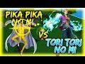 Pika Pika No Mi VS Tori Tori No mi (Pika has a new move)   Steves One Piece