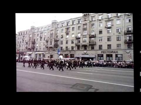 "Defile of military orchestras and bands at the festival ""Spasskaya Tower"""