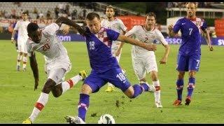 Hrvatska-Makedonija 2:1 (CRO-MKO 1:1) 12.10.2012.