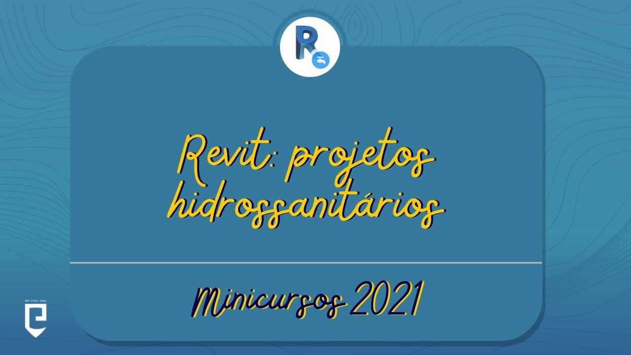 #1: Introdução ao REVIT e ao Projeto Hidrossanitário
