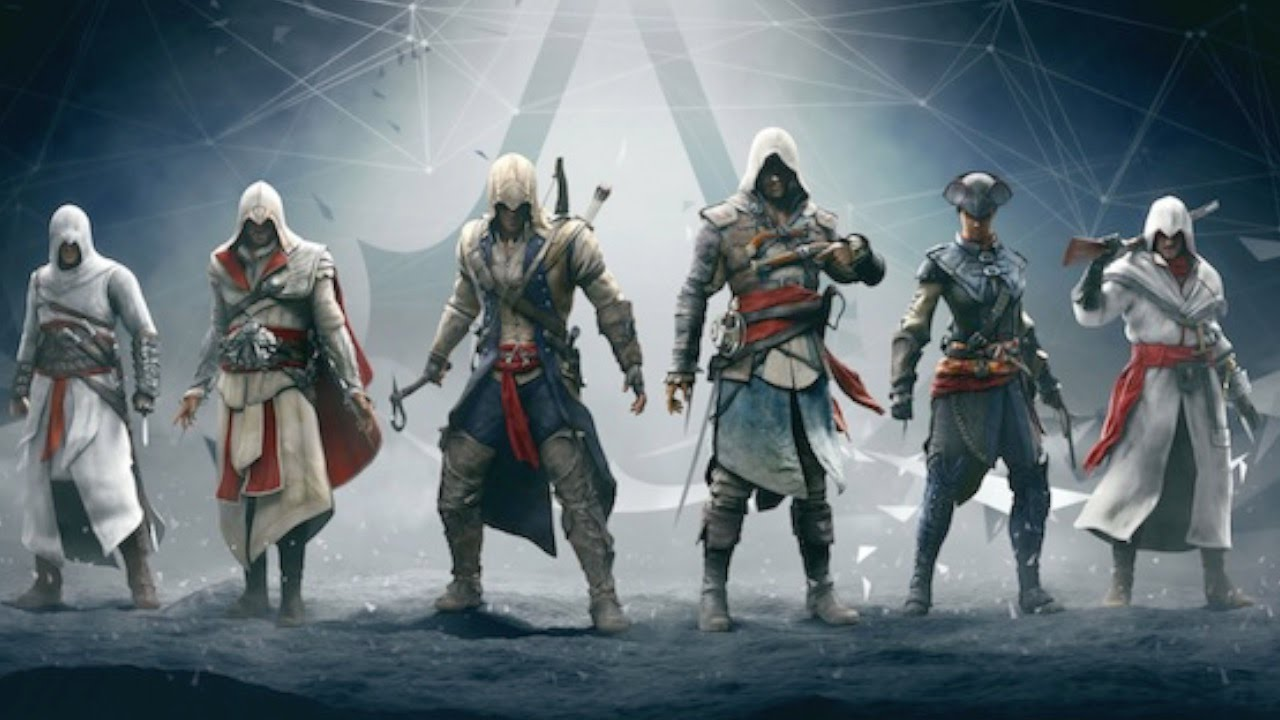 Top 10 Assassin S Creed Characters Youtube