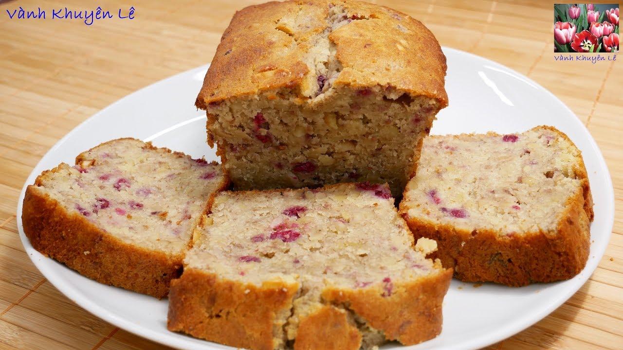 BANH DÂU CHUỐI – Bánh mì Chuối rất rất ngon mà lại dễ làm by Vanh Khuyen
