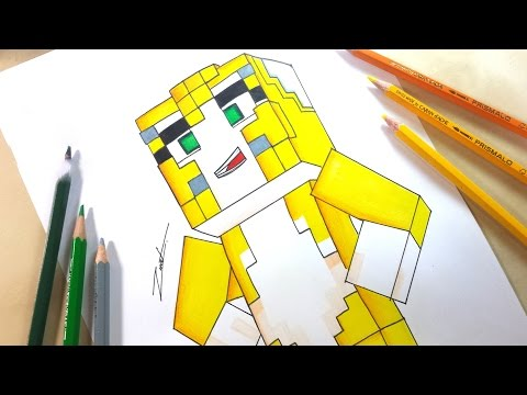 How to draw minecraft l for leeeeee easy step by step drawing stampy cat drawing altavistaventures Image collections