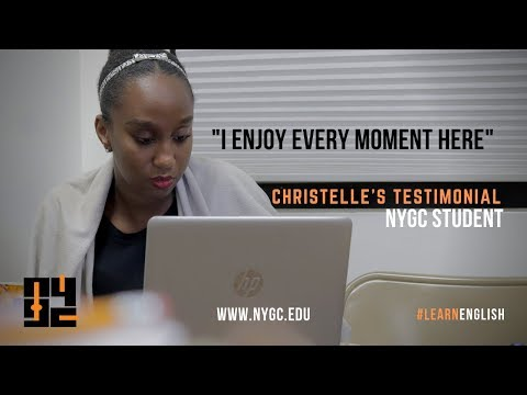 English School Testimonial - Christelle | New York English School | NYGC