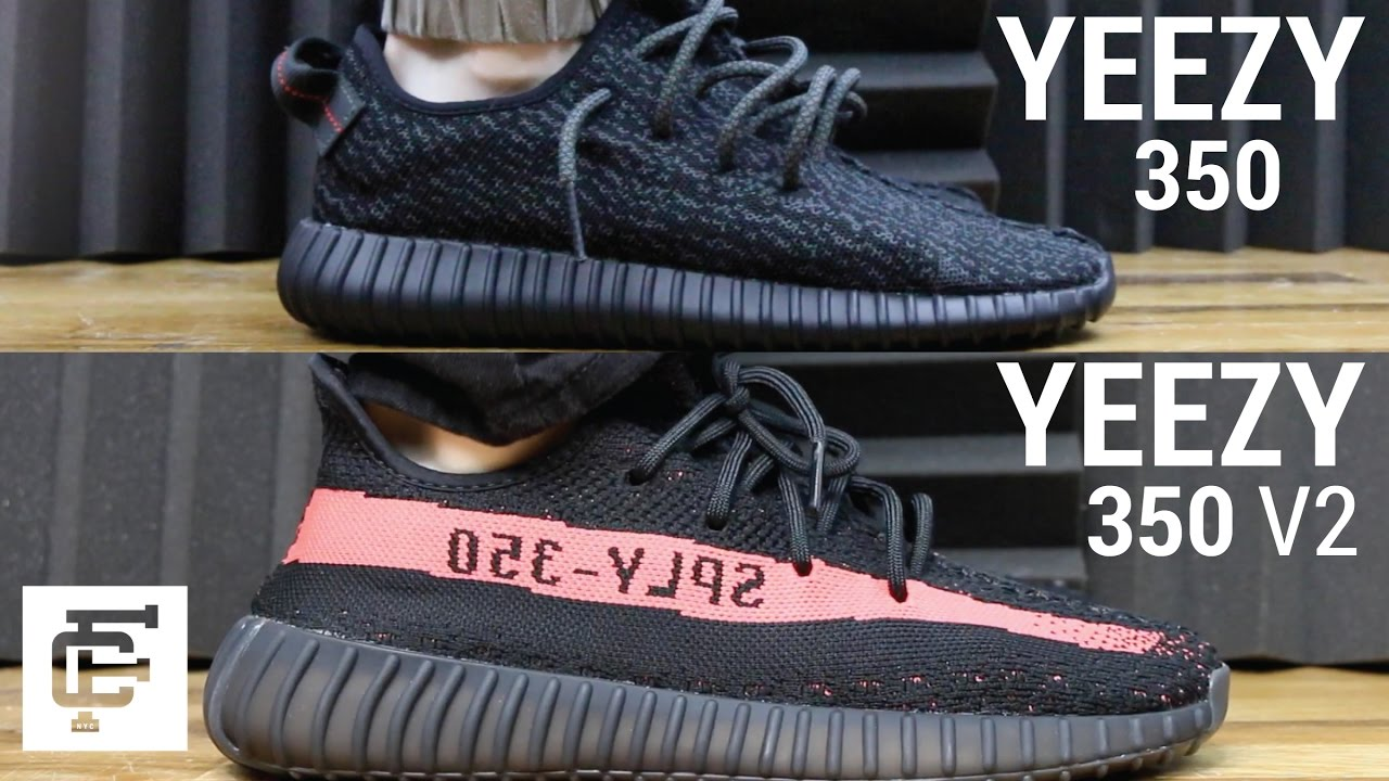 Cheap Yeezy BOOST 350 v2 'BLACK AND WHITE' REVIEW SIZING ON