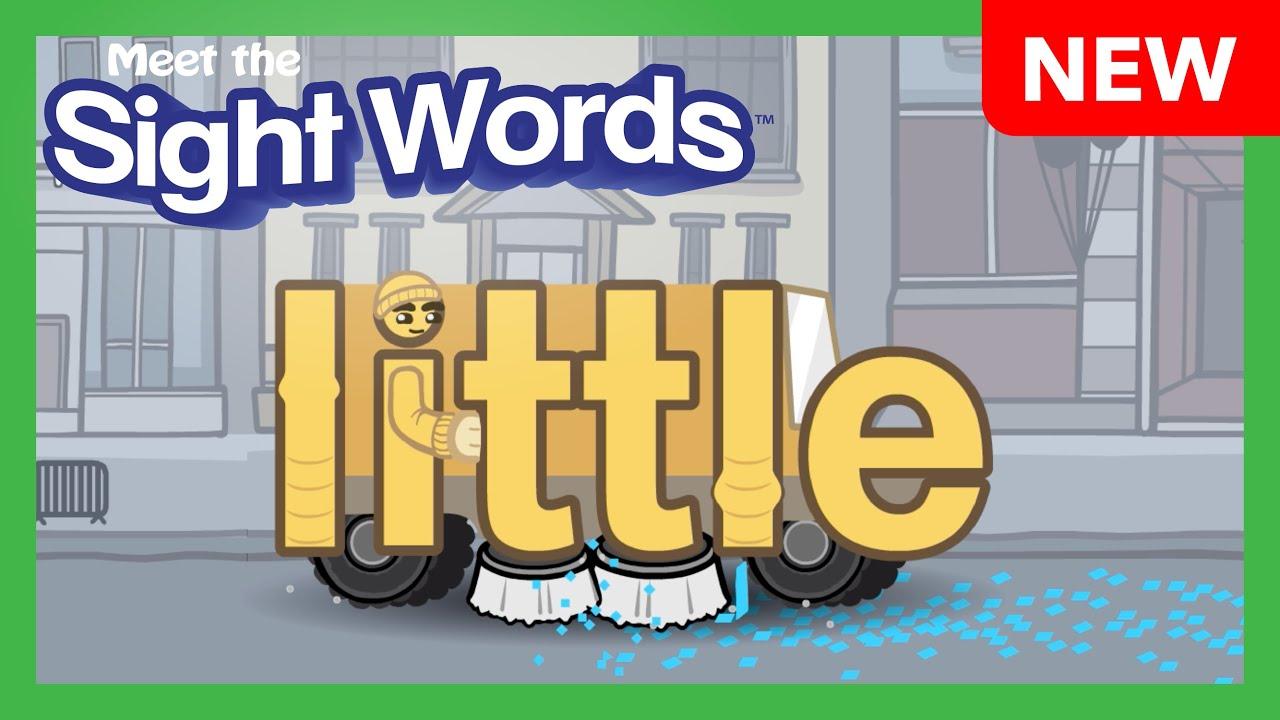 """NEW! Meet the Sight Words - """"little"""""""