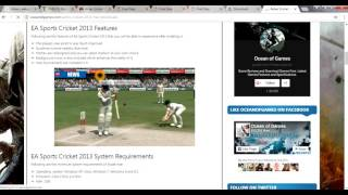 HOW TO DOWNLOAD CRICKET 2013 PC  GAMES FOR PC