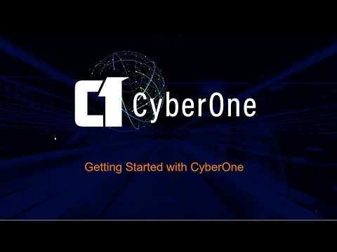 Navigating the CyberOne Management Platform 1