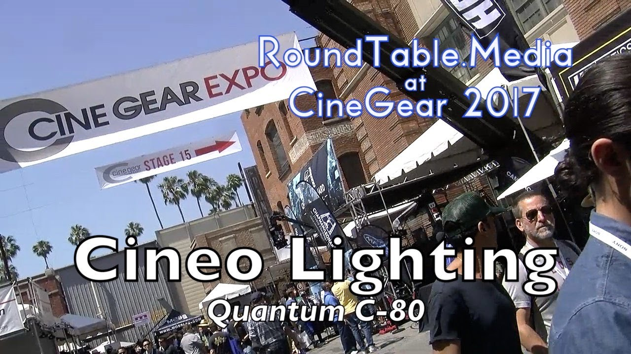 CineGear'17 Cineo Lighting