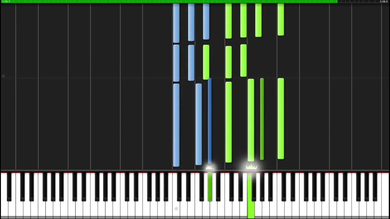Across the Stars - Star Wars [Piano Tutorial] (Synthesia)