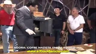 Geraldo Luís abre o cofre Nazista 30/11/12 - Balanço Geral SP - @e10oficial