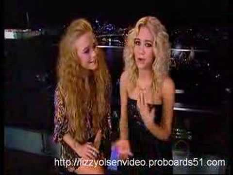 Mary-Kate And Ashley Chat On Rove (HQ)