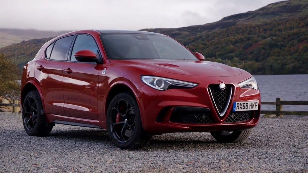 2019 Alfa Romeo Stelvio Quadrifoglio Competizione Red Driving