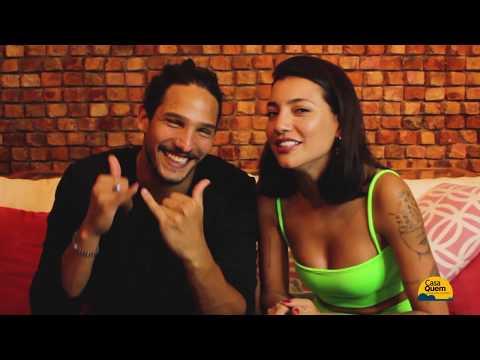 João Zoli e Gabi Prado respondem quem é o mais ciumento e quando sai o casamento