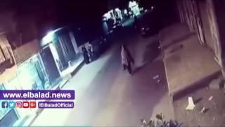سيارة تدهس مواطنا بالقناطر الخيرية .. فيديو