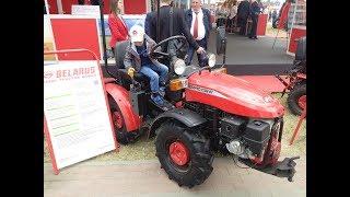Мини-трактор МТЗ Беларус 112Н-01. Видеосюжет. Краткий обзор.