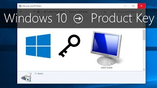 Find Windows 10 Product Key [How-To]