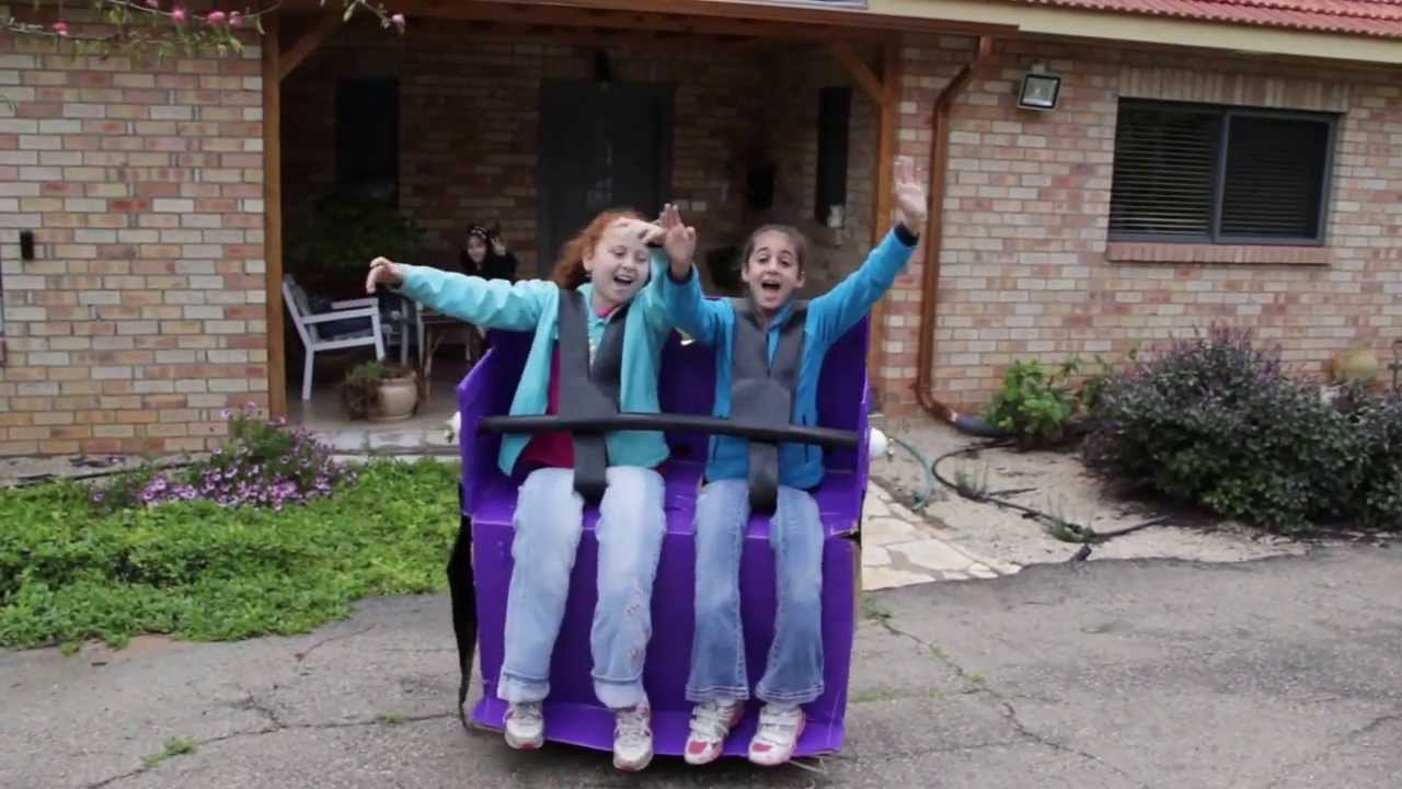 Rollercoaster Costume - YouTube