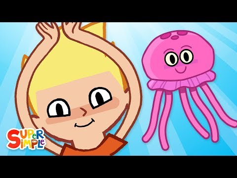 Cantec nou: The Jellyfish | Kids Songs | Super Simple Songs