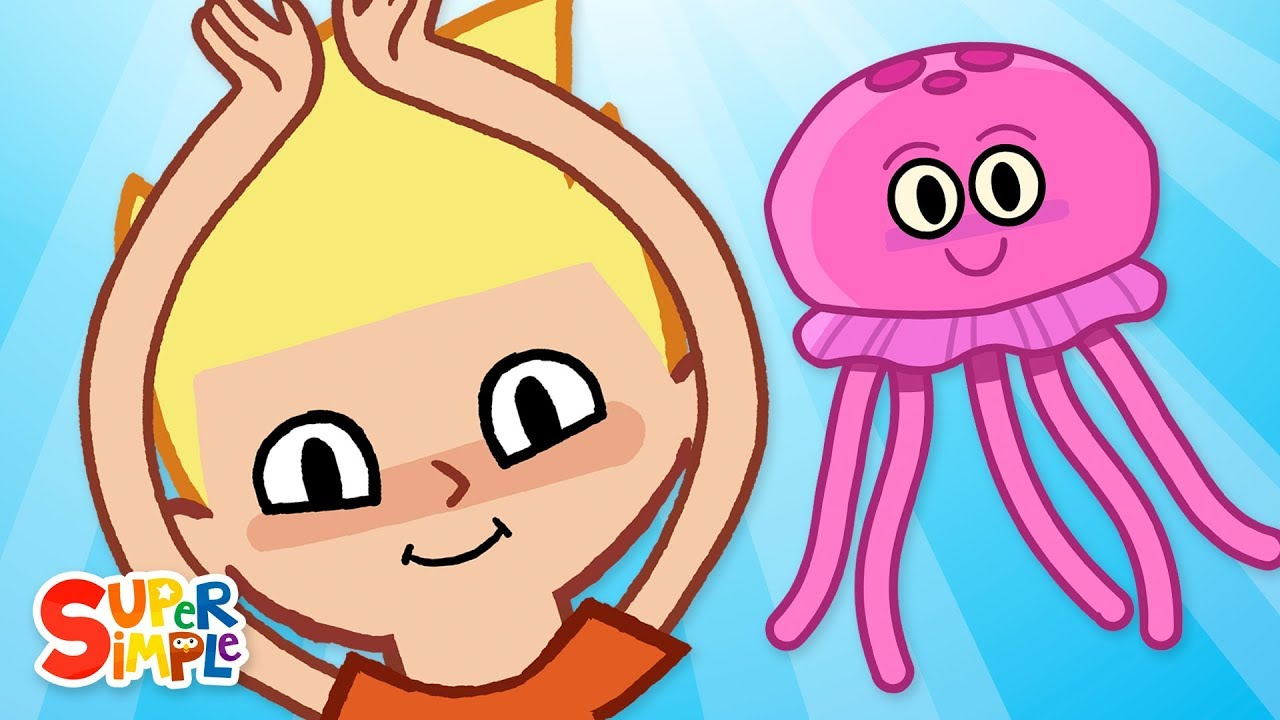 The Jellyfish | Kids Songs | Super Simple Songs