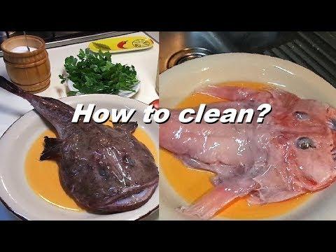 Monkfish How To Clean Fish Monkfish ?