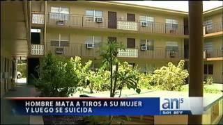 Hombre mata a tiros a su mujer y luego se suicida - América TeVé
