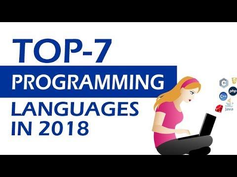 Top 7 Programming Languages 2018 In Hindi
