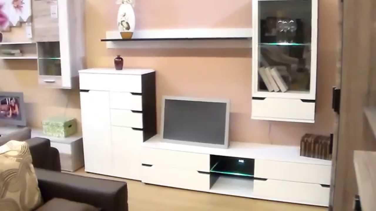 Bianco nappali szekrénysor (Home-Max Bútor) - YouTube