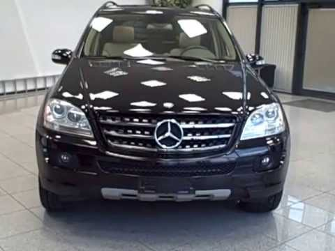 Carcompany 2006 mercedes ml 350 4matic black beige for Mercedes benz ml350 4matic 2006