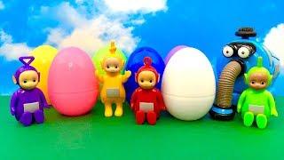 Teletubisie i otwieranie jajek niespodzianka  किशोरी अंडा आश्चर्य खोल रहा है